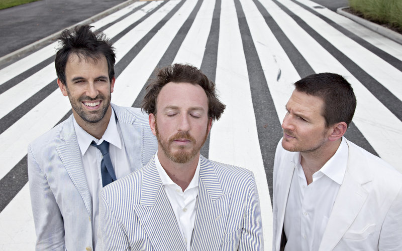 Guster performs at L.L. Bean on Aug. 10.