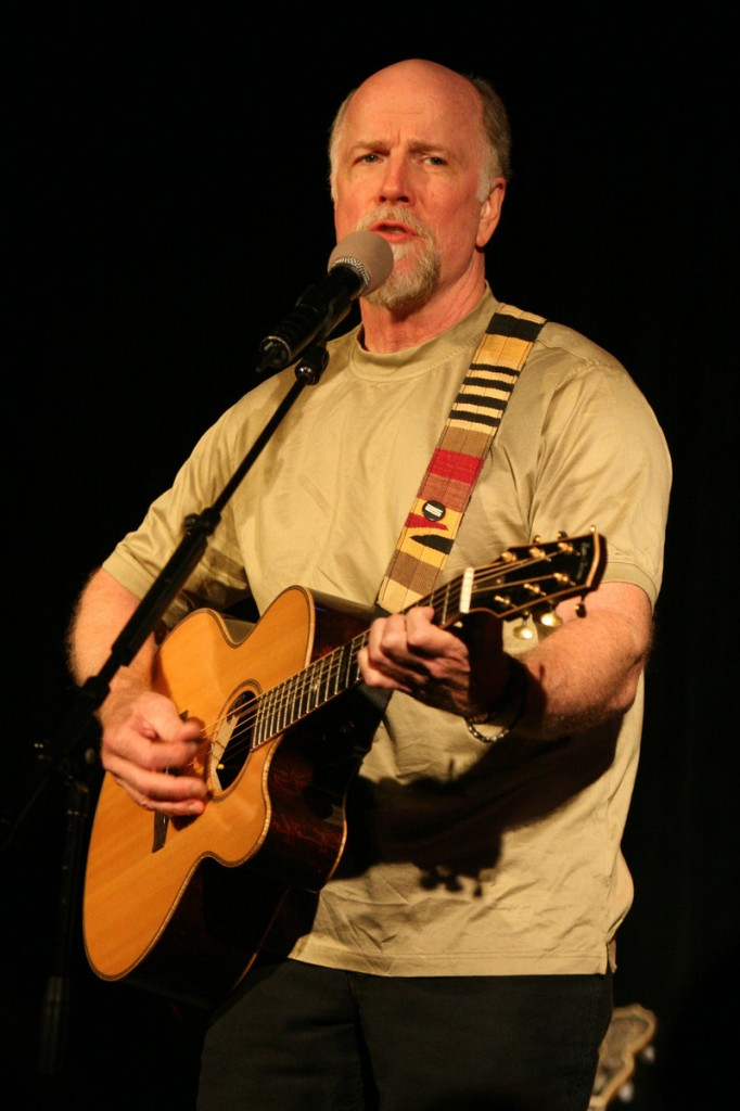 Singer-songwriter John McCutcheon performs Sunday in Boothbay Harbor.