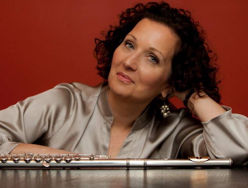 Flutist Linda Chesis is part of Bowdoin's Festival Fridays lineup.