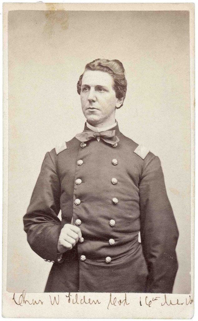 Col. Charles W. Tilden of Castine served as the regiment's commander
