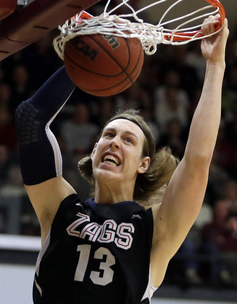 The Boston Celtics, beginning a wholesale rebuilding era, hope Kelly Olynyk can provide the spark that he helped provide to make Gonzaga one of the top college teams.