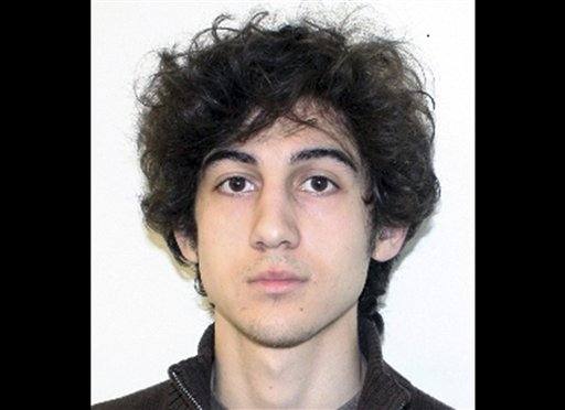 Boston Marathon bombing suspect Dzhokhar Tsarnaev, in a photo provided by the Federal Bureau of Investigation.