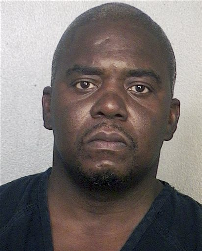 Booking photo of Ernest Wallace, released via the website of the Broward County Sheriff's Office.
