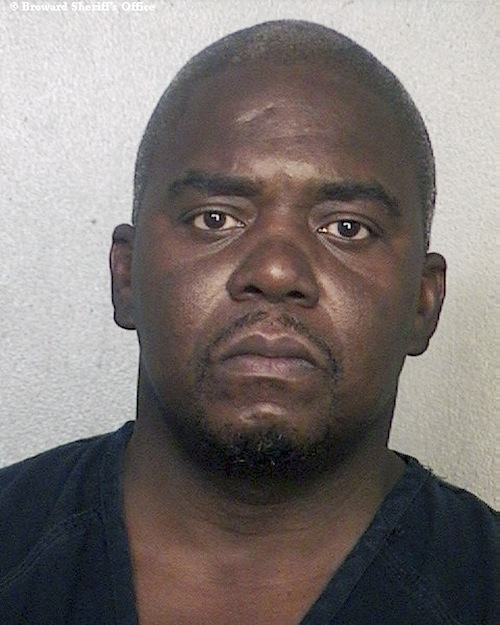 This booking photo released via the website of the Broward County Sheriff's Office shows Ernest Wallace, arrested June 28, 2013 when he surrendered at a police station in Miramar, Fla. Authorities had been seeking Wallace on a charge of acting as an accessory after the murder of Odin Lloyd on June 17 in North Attleborough, Mass. Former New England Patriots football player Aaron Hernandez has been charged with Lloyd's murder. (AP Photo/Broward County Sheriff's Office) Attleboro;North Attleborough;Aaron Hernandez;Patriots