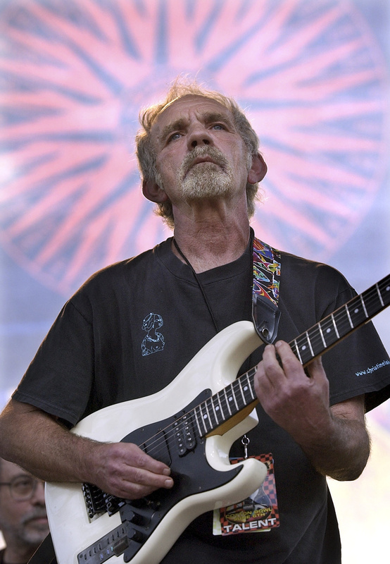 In this 2004 photo, singer-songwriter J.J. Cale plays during the Eric Clapton Crossroads Guitar Festival in Dallas.