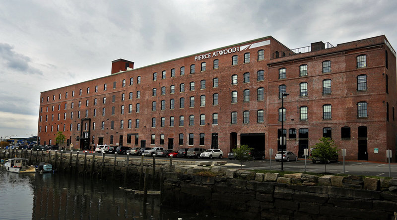 After converting this Merrill's Wharf building into Pierce Atwood offices, Waterfront Maine couldn't find marine-use tenants for the ground floor.