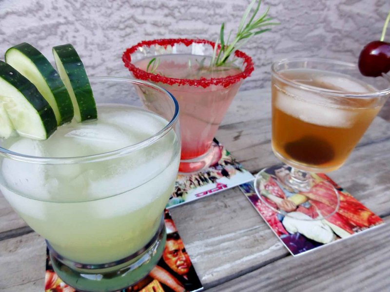 Cucumber, rosemary and tamarind add refreshing twists to flavored water.