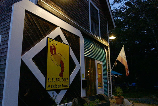 Sargentville may seem like an unlikely place for a five-star Mexicali dining experience, but that's what you get at El El Frijoles.