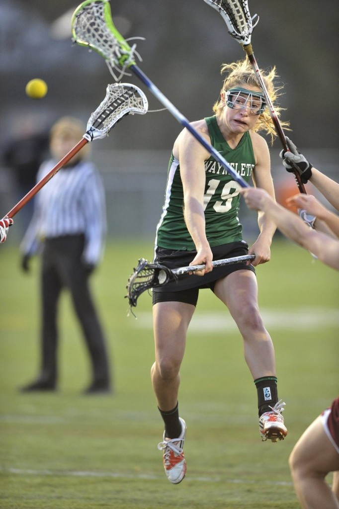 Martha Veroneau had 47 goals and 28 assists this season, but that just begins to show her importance to the Waynflete team that won a second straight Class B girls' lacrosse title.