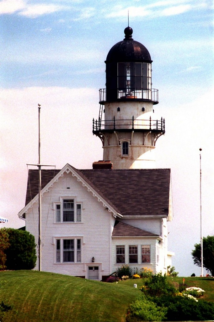 Each New England lighthouse has a fascinating story to tell. The keeper at Two Lights in Cape Elizabeth was awarded the Coast Guard's Gold Lifesaving Medal for rescuing two sailors from a shipwreck in 1885.