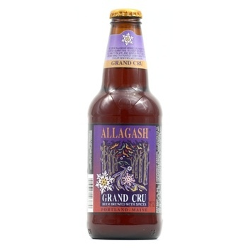 Allagash Grand Cru is a straight-forward, malty and flavorful Belgian.
