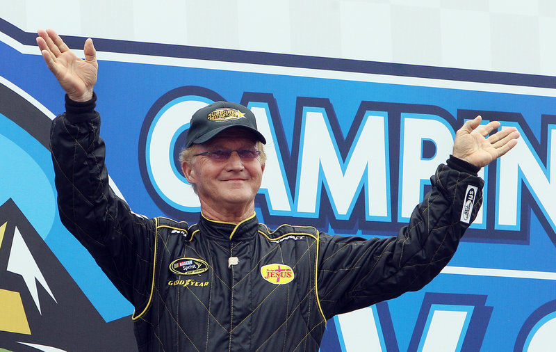 Morgan Shepherd, 71 years young, completed just 92 of the 301 laps, but still has younger drivers hoping long may he run.