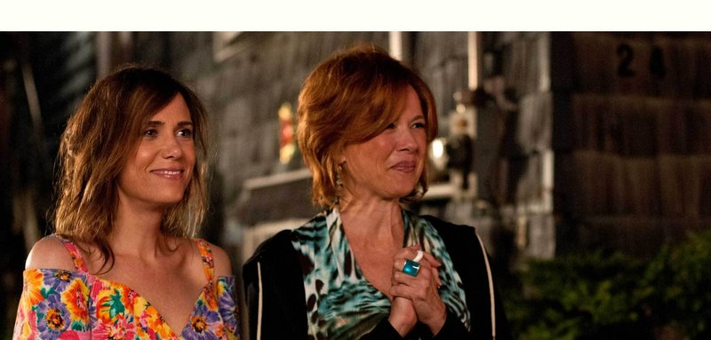 "Kristen Wiig as Imogene with Annette Benning as her mother, Zelda, in ""Girl Most Likely."""