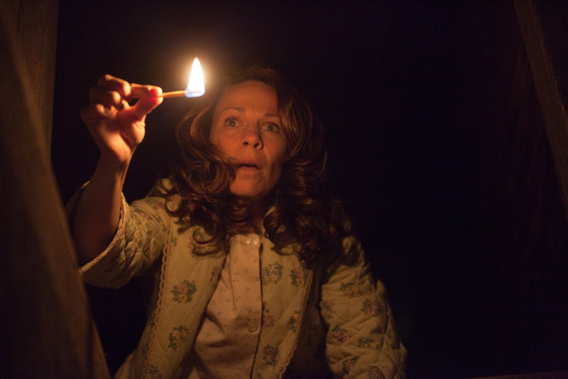 "Lili Taylor portrays Carolyn Perron in ""The Conjuring."""