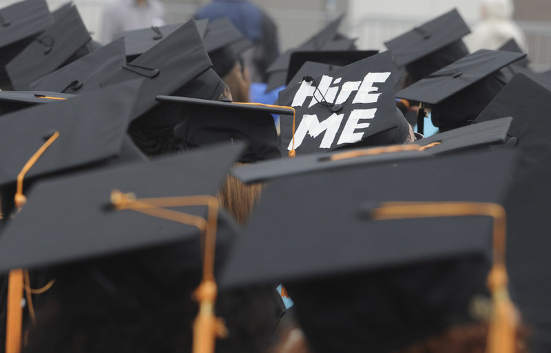 College financial aid offices are equipped to help families negotiate an aid package that won't leave graduates like these with a mountain of debt, says the head of the Finance Authority of Maine.