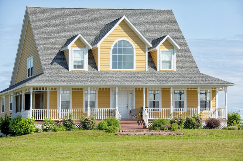 New siding can dramatically improve a home's exterior.
