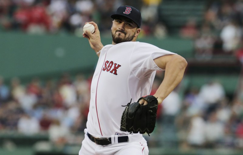Boston's Brandon Workman, who started the year with the Portland Sea Dogs and was recently called up from Pawtucket, pitched six innings – giving up seven hits with four strikeouts.