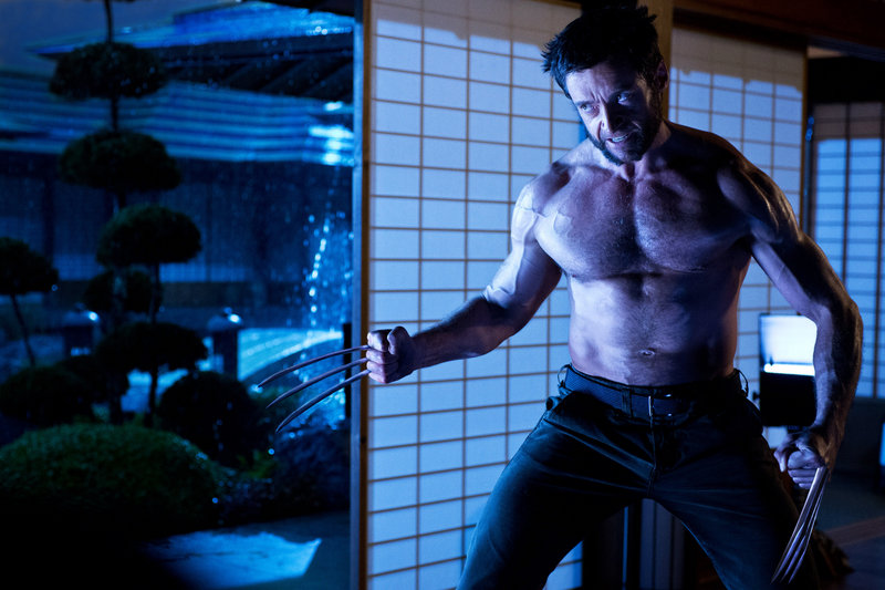 Hugh Jackman plays the clawed superhero Logan/Wolverine in a scene from the newly released film,