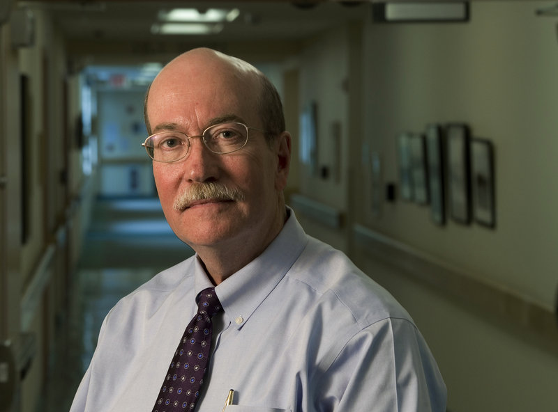 "James Donovan, CEO of Lincoln County Health Care, supports the emergency room's closure at St. Andrews Hospital in Boothbay Harbor. ""For many years now, the 24/7 St. Andrews emergency department hasn't been busy enough to sustain itself,"" Donovan says."