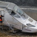 Investigators say the driver of this train – which crashed last Wednesday – was talking with a controller on a phone and consulting a document when the crash occurred.