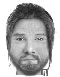 Sanford police released this sketch of a man who allegedly tried to abduct a woman Friday.