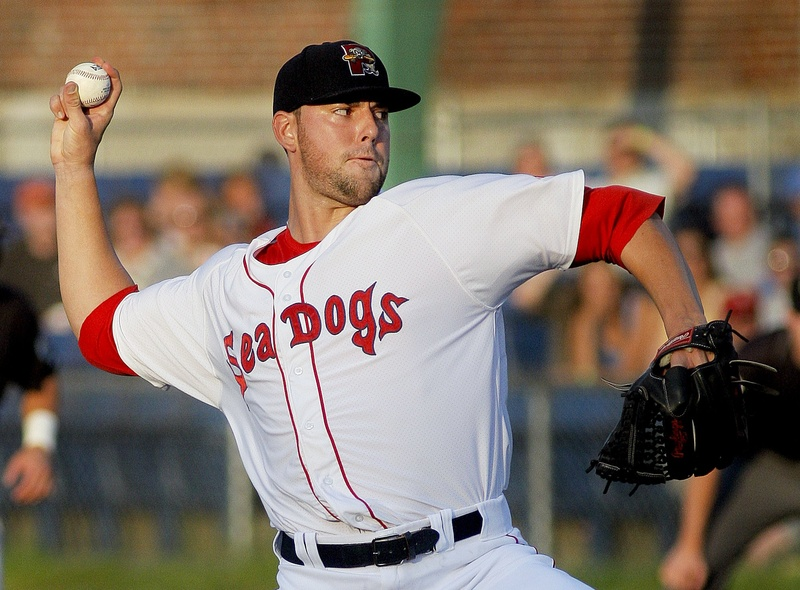 Anthony Ranaudo, shown starting for the Portland Sea Dogs on July 19, has been promoted to the Triple-A Pawtucket Red Sox.