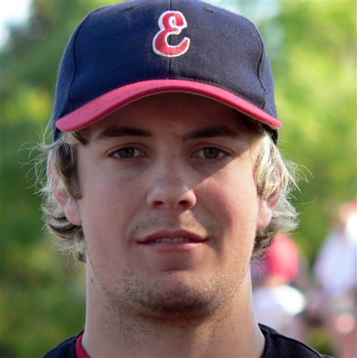An undated photo of player Chris Lane provided by the Essendon Baseball Club.