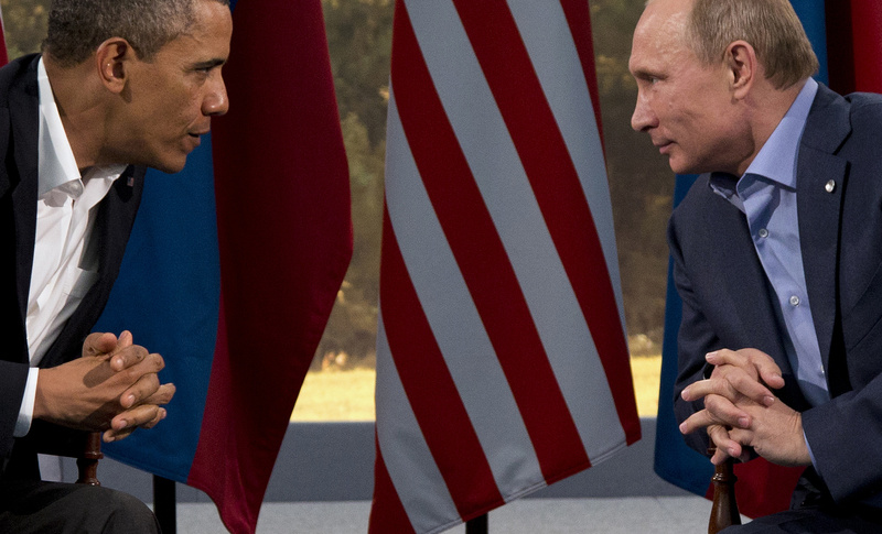 President Barack Obama and Russian President Vladimir Putin were on better terms terms in June in Northern Ireland. On Wednesday, Obama canceled plans to meet with Putin in Moscow next month – a rare diplomatic snub.