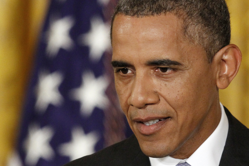 President Barack Obama speaks during a news conference in the East Room of the White House in Washington on Friday. Obama unveiled a series of proposal to curtail the government's spying on Americans.