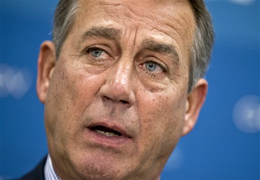 House Speaker John Boehner, R-Ohio, is pressing the president to provide a legal justification for any U.S. military action in Syria.