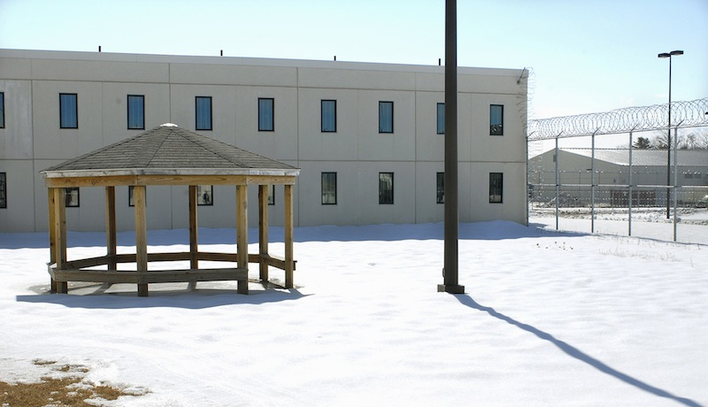 The 2007 file photo shows a section of the Maine State Prison. The Legislature approved a bill Thursday, Aug. 29, 2013 that will allow some patients from the Riverview Psychiatric Center in Augusta to be shipped to a newly staffed mental health unit at the state prison.