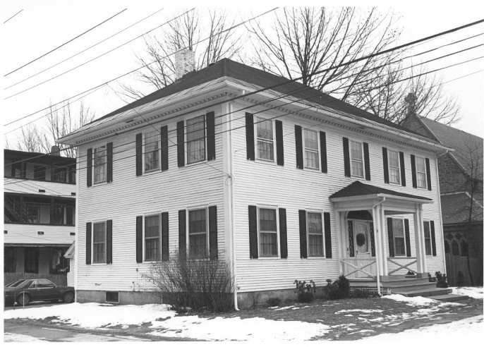 The Fuller-Weston House at 11 Summer St. in Augusta, which is now the rectory of St. Mark's Episcopal Church.