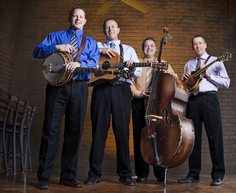 The Spinney Brothers will perform at both the Blistered Fingers and the Thomas Point Beach bluegrass festivals.