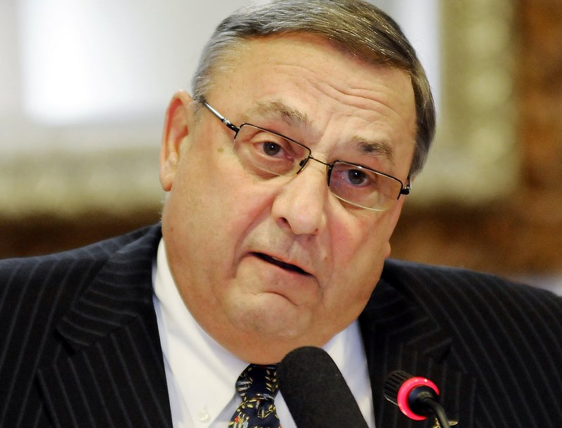 While Gov. Paul LePage's off-color remarks have offended opponents, galvanized supporters and fueled attacks from the Democratic congressman and independent candidate hoping to unseat him in 2014, the three-way race shaping up may play into his favor.