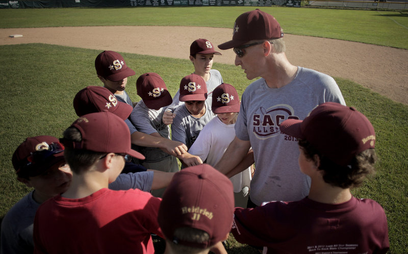 Todd Duchaine has led his Saco team to state titles at every age level, and now the group will be seeking a Little League regional championship starting Friday.
