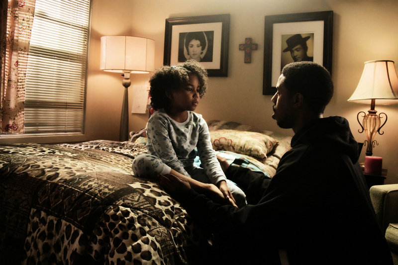 "Ariana Neal, left, and Michael B. Jordan in ""Fruitvale Station."""