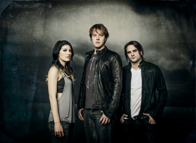 The Sick Puppies are, from left, Emma Anzai, Shim Moore and Chris Mileski.