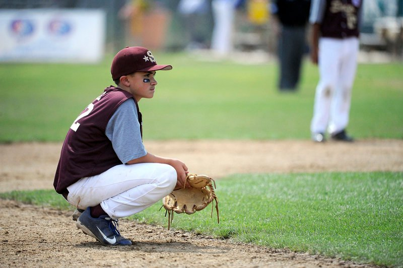 Luke Chessie started on the mound for Saco and was followed by five other pitchers who had trouble stopping Lincoln's offense.