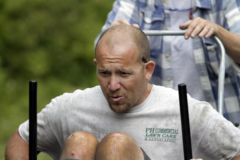 Jeff Cleveland, a paraplegic since a motorcycle crash 21 years ago, is one of seven disabled athletes making the climb.