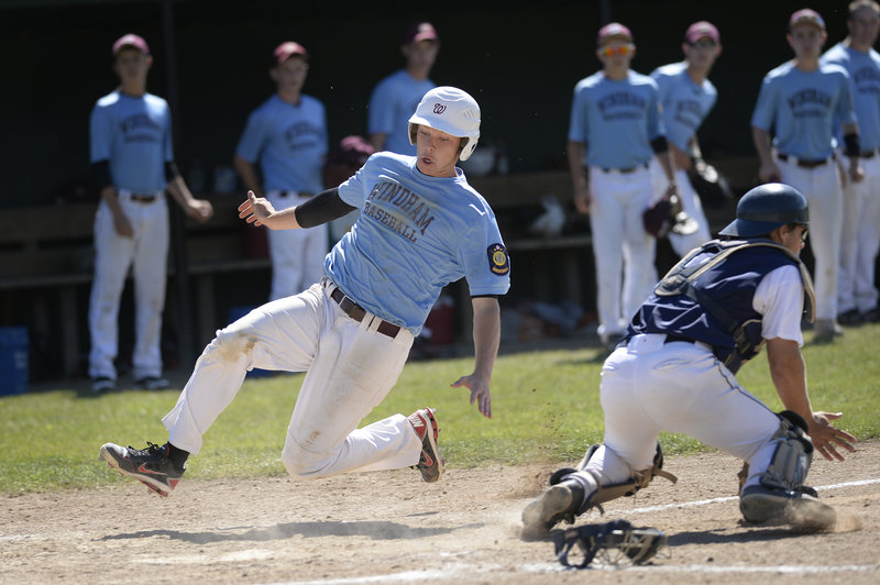 Cody Dube and his teammates on the Windham Merchants team that won the American Legion baseball state championship have learned how to win, and hope it continues.