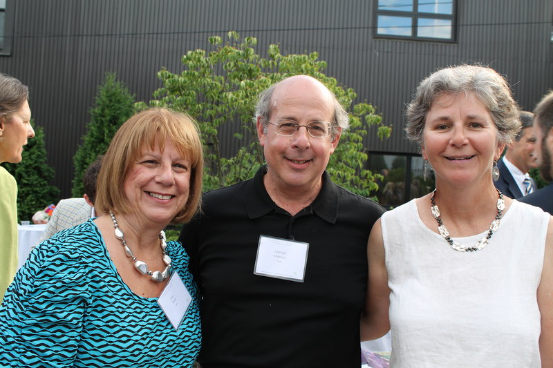 Jean Marcus Peck of Tampa, Fla., and Portland, with George and Nancy Savage Marcus of Cumberland.