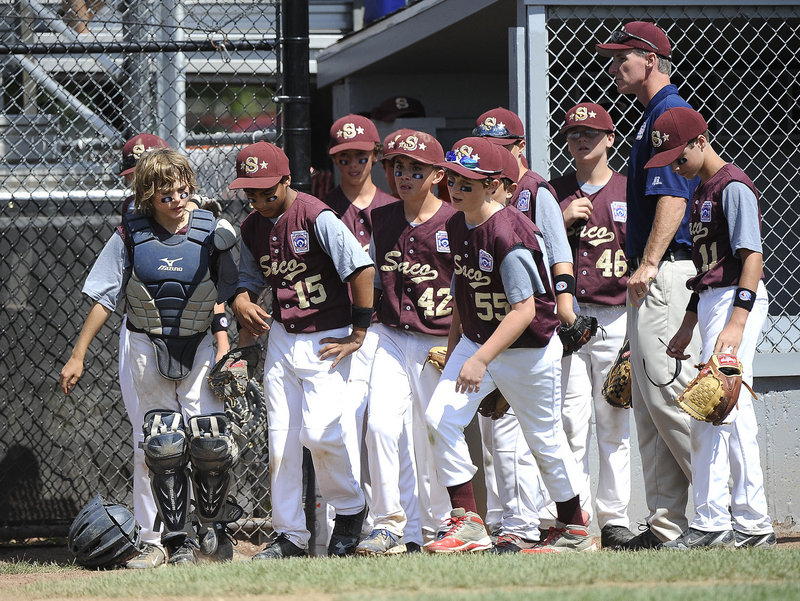 The Saco Little League team is in a wait-and-hope mode after losing to South Burlington, Vt., in the regionals.