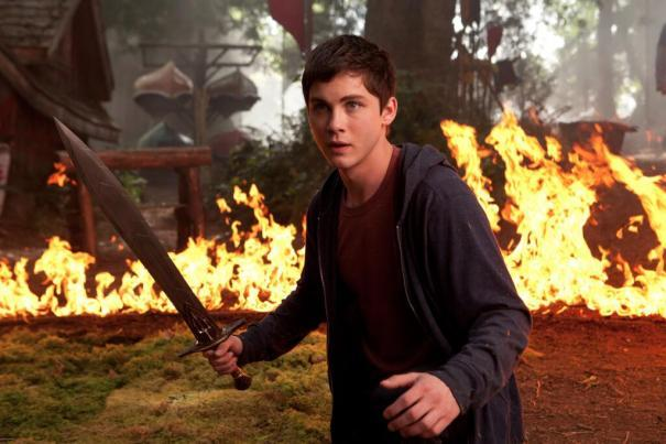 "Logan Lerman in ""Percy Jackson: Sea of Monsters."""