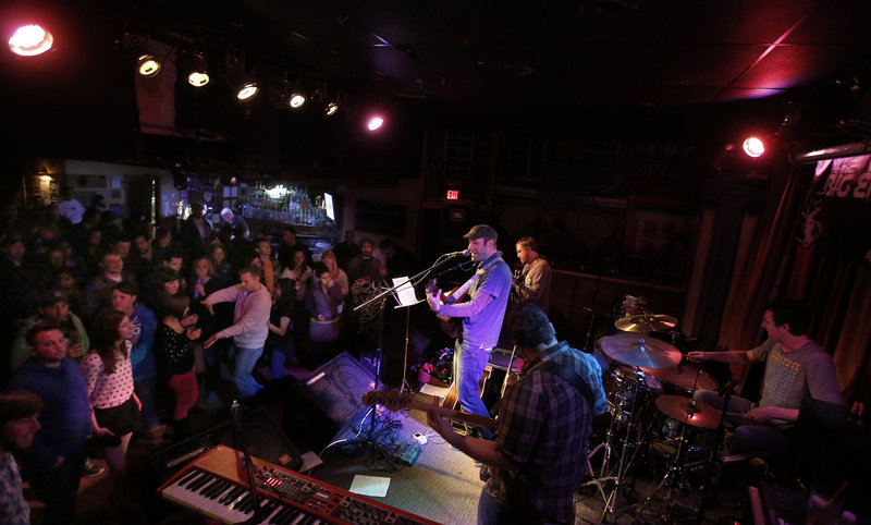 The Pete Kilpatrick Band plays to a packed house at The Big Easy recently in Portland.