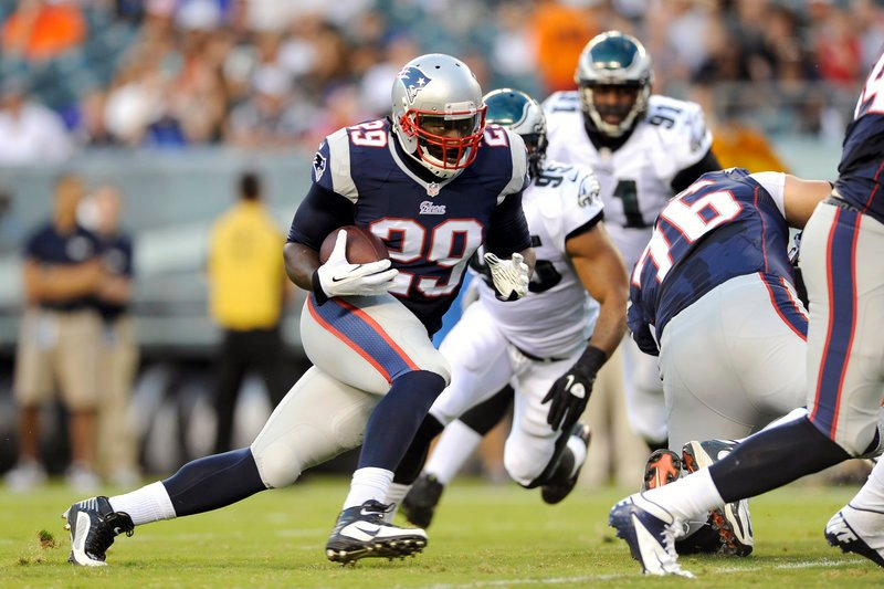 LeGarrette Blount showed Friday night that he may become a go-to running back for the New England Patriots, collecting 101 yards on 11 carries against the Philadelphia Eagles. Blount scored on a 51-yard run, reversing direction twice.