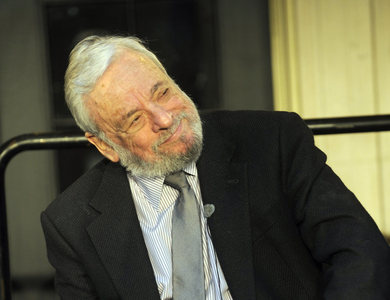 Stephen Sondheim was awarded the Edward MacDowell Medal for lifetime achievement.