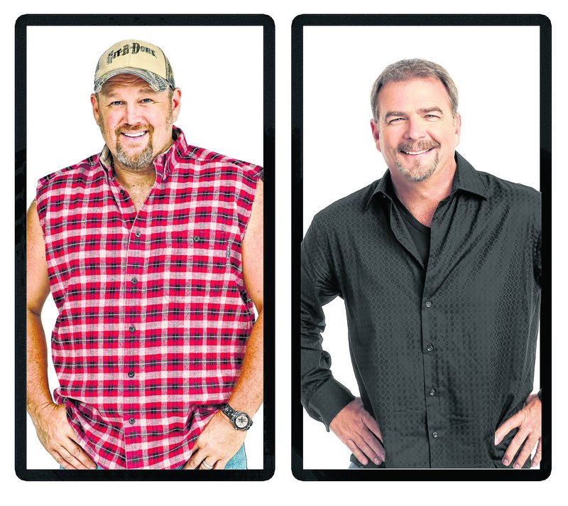 Larry the Cable Guy, left, and Bill Engvall