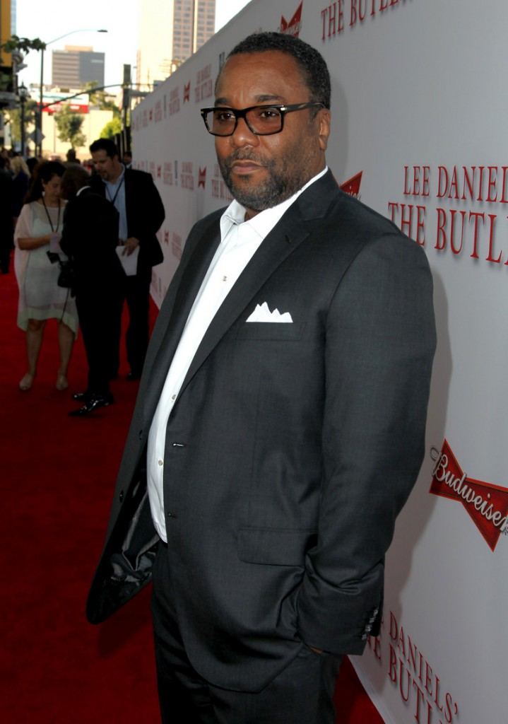 Lee Daniels at the film's Los Angeles premiere.