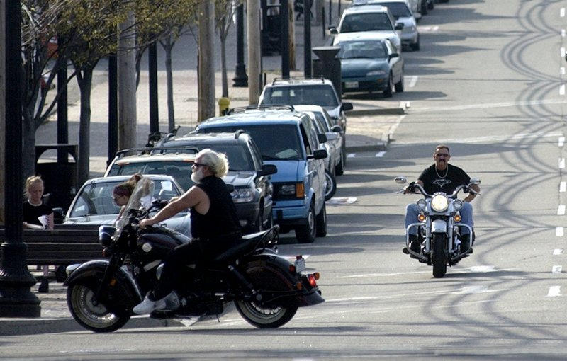 Police checkpoints on sunny summer weekends could take riders who violate motorcycle noise laws off the roads, a reader says.