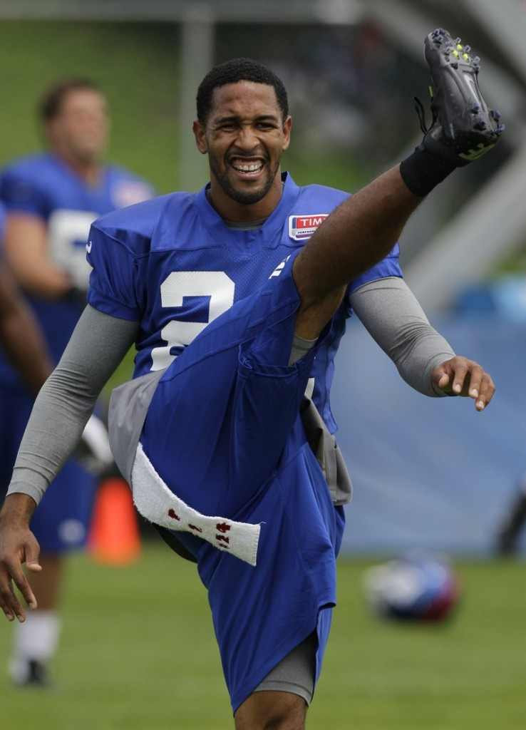 After two years in sick bay, New York Giants cornerback Terrell Thomas is looking good in practice and may again have a leg up over opposing receivers this season.